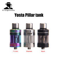 Wholesale Wholesale Glass Pillars - Original Yosta Pillar RTA MTL Atomizer Tank with POM Drip Tip 4ML Capacity fit Yosta Livepor 160 Box Mod for Vape E Cigarettes