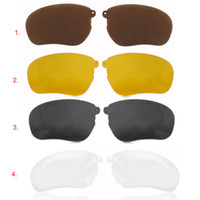 Wholesale Wholesale Clip Sunglasses - Wholesale-1 Pair Polarized Clip for THB-368 Wireless Bluetooth Sunglasses Headset Night Vision Lens Anti-UV Sun Glasses Replacement Lenses
