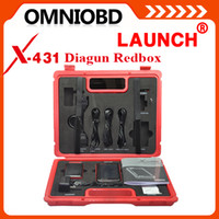 Wholesale Diagun Red Box - 2016 Merrychristmas Car diagnostic tool Free update Auto scanner Launch X431 Diagun Only Red Box Scanner