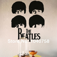 Wholesale Paper London - The Beatles Rock Music Poster Wall Stickers Home Decoration Adesivo De Parede London Vinyl Posters for Wall Art Decal Wall Paper