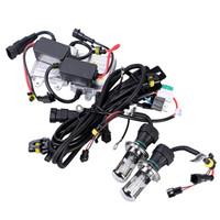 Wholesale Hid Kit Ac 55w H4 - 12V AC 55W xenon kit HID Slim Conversion Kit H1 H3 H4 H7 H11 9004 9005 9006 9007 HID kit Xenon 55w