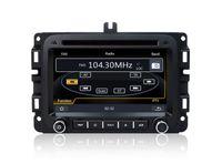 Wholesale Dodge Dash Tv - Auto Radio Car DVD Player GPS Navigation for Dodge RAM 1500 2014 2015 with Navigator Bluetooth TV SD USB Stereo Audio Video
