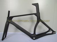 WT-T088 Road Bike Track Frame, Full Carbon Fiber Frame, Frame + Fork + Seat Post + Headset + Clamp, Tamanho 49/52/55 / ​​58cm