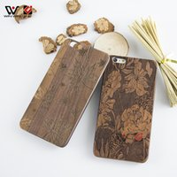Retro Tree Cherry Wood Phone Case para iPhone 6 6s 6plus 7 8 7 Plus 8Plus Hard PC Back Mobile Cell Phone Cover Accessories
