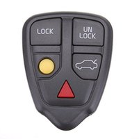 Wholesale Volvo Keyless Remote - Replacement Keyless Entry Remote 5 Buttons Car Key Fob Case Shell for Volvo V70 C70 V40 Xc90 S80 S70 Xc70 X c Wagon 8685150 9459368 No Chip