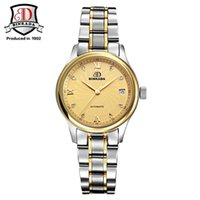 Wholesale Genuine Yellow Sapphire - Genuine BINKADA Men And Women automatic mechanical Watch self-wind sapphire watch ladies fashion business female waterproof Watch