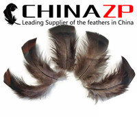 Wholesale factory turkey - Newest Plumage CHINAZP Crafts Factory 100% Exporting Unique Dyed Black Bronze Wild Turkey T-Base Turkey Feathers