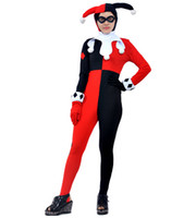 Wholesale Japanese Dark Anime - Top The Dark Knight Clown Cosplay Customes Suits Fashion Christmas Costumes Halloween Anime Adult Styles Party Outfit