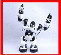 Wholesale Intelligent Toys For Boys - Free shipping toy for the boys rc robot toy Roboactor humanoid intelligent Robot programmable voice control robot toy