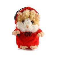 Wholesale Dj Hamster - Wholesale-DJ Style Talking Toy Hamster,Electronic Pet Animal,15CM,1PC Without Box