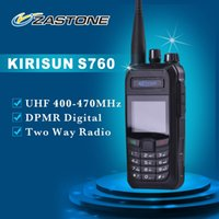 Wholesale Kirisun Digital - Wholesale-Free Shipping DPMR 2 Way Radio KIRISUN Digital Radio S760 UHF 400-470MHz Commercial Digital Walkie Talkie