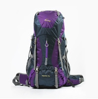 outdoor weatherproof art - Outdoor Products Camping Hiking Oxford cloth Mountaineering bags L Unisex Weatherproof High capacity travel double shoulder Backpacks