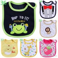 Wholesale Towel For Wear - 10pcs\lot 0-3 years baby bibs bib Infant Saliva Towels Newborn Wear Burp Cloths for free shipping