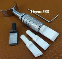 Wholesale Carving Ceramics - 3Nano Ceramic Blade Adjustable Swivel Carving knife Leather craft Tool Kit Ball Bearing C