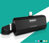 Mini Pocket Portable Power Bank Inserimento diretto 3000mAh Caricabatteria di backup esterno Emergence Power Pack Caricabatterie per tutti i telefoni cellulari