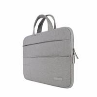 macbook pro dhl toptan satış-Laptop Çantası / Kol Çantası Taşınabilir Dizüstü Çanta Hava Pro 13 14 15.6 Dell HP Macbook Yüzey Pro Ücretsiz DHL Kargo