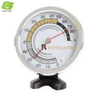Wholesale Kitchen Baking Tools PlasticTwo Pointer Hygrometer Thermometer Professional Fermentation Dial Temperature Gauges dandys