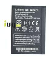 bateria de iões de lítio telemóvel venda por atacado-2000 mah bateria de lítio-ion substituição para thl w200 w200s w200c baterias de telefone móvel inteligente batterij batterij