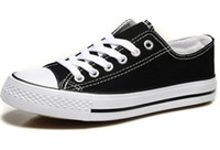 styles de chaussures pour hommes achat en gros de-Prix usine prix promotionnel! Femininas chaussures de toile femmes et hommes, haut / bas style classique chaussures de toile Sneakers Chaussures de toile