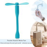 Wholesale USB Fan Mini Protable Fan Multifunctional USB Rechargerable Colurful Fan Xiaomi fans High Quality For Computer Laptop Wireless Power