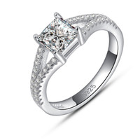 Wholesale Platinum Rings Sale - Big Fashion Ladies Wedding Ring,Luxury Series Austria Crystal,925 Silver Ring on 3 Layer Platinum Plated, Hot Sale Women Ring OR30