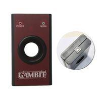 Wholesale Gambit Car Key - DHL Free Shipping Gambit Programmer Car Key Programmer Gambit MASTER II Chip RFID Key Programmer With 1 Year Warranty