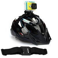 Wholesale Gopro Helmet Hero Hd - Wholesale Vented Appealing Belt Mount Holder Helmet Strap for Gopro HD Hero 3 4 SJ4000