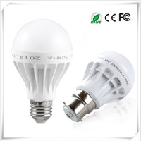Wholesale E27 Light Bulb Energy Saving - Free Shipping High Quality 3W 5W 7W 9W 12W LED Bulbs Energy-Saving Light E27 Base Globe Light Bulb Wholesale Cheap Lightings Lamp 220V-240V