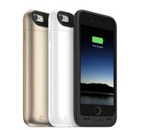 Wholesale External Battery Charger Dhl - iphone 6 2750mAh battery back power banks charger case cover for iPhone 6 Cell Phone Chargers External Battery Case iphone charger DHL Free