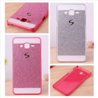 Wholesale Galaxy Core Duos Cover - S line Bling Glitter Hard Plastic Case For Samsung Galaxy Core Prime G360 Alpha G850 Grand Duos I9082 E5 E7 Hybrid Skin Cover