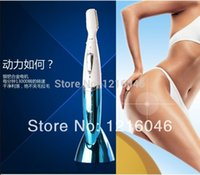 Wholesale Electric Pussy - Ms. genuine electric male genitals pussy shaving knife trimmer shaver epilator female pubic hair shaving eyebrow eyebrows