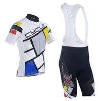 Wholesale Cheap Bibs - 2016 cyclingbox Team Cycling Jersey Cycling Wear Cycling Clothing+short bib suit-cyclingbox-1B High Quality Free Shipping Cheap Price