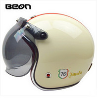 Wholesale helmet motorcycle beon - 2015 authentic Dutch BEON retro fashion half face helmet Harley style motorcycle helmets made of FRP men and women