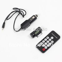 Wholesale Iphone 4s Car Remote Control - Free shipping 3 in 1 Remote Control Car Charger USB FM Transmitter for iPhone 4 4s  i 8501