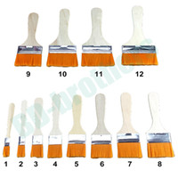 Wholesale Clean Industries - 1# 2# 3# 4# Hairbrush Wooden Handle Brush For Industry Electronics Machine Cleaning Dedusting 5000pcs lot
