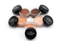 poudre de crème pleine achat en gros de-Maquillage Visage Concealer Popfeel 5 couleurs Fond de Teint Poudre Full Cover Fond de teint Poudre Maquillage Beauté Blemish Concealer Cosmétiques
