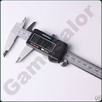 """Wholesale Digital Vernier Caliper Widescreen - 6"""" 150 mm Digital Vernier Caliper Micrometer Guage Widescreen Electronic Accurately Measuring Stainless Steel Free Shipping T0009"""