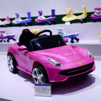 Ferrari Electric Cars Niños Power Ride On Toys Car 6v Battery Juguetes eléctricos Car Remote Control Battery Power Car