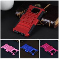 Wholesale S4 Impact Covers - For Samsung galaxy s6 s5 s3 s4 Future Armor Impact Hybrid Hard Case Cover + Belt Clip Holster Kickstand Combo Stand For iphone 6 6s plus