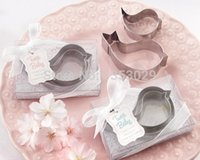 Wholesale baby cookie cutters - Wholesale- Free Shipping Stainless steel Love Bird DIY cookie cutters Cake mold and Fondant cooking tools wedding party gift baby favors