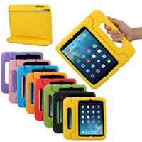 Wholesale Kids Ipad Tablet - 1PC Tablet EVA Protective Case Cover Multifunction Kids Shock Proof Handle Case For iPad Mini 1 2 3 Free shipping