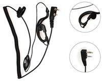 Wholesale Baofeng Radio Mic - High Quality Mic Headset  earphone for Baofeng UV-5R  UV-B5 UV-B6 dualband small radio headphone Free shipping Wholesale
