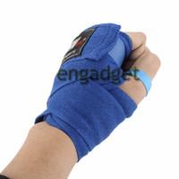 Wholesale Mma Wraps - Width 5cm X 2.5M 100% Cotton Sports Strap Boxing Sanda Muay Thai MMA Taekwondo Bandage Hand Gloves Wraps 00537