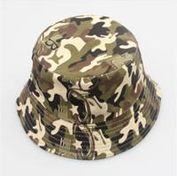 sombreros del cubo del sol de las niñas al por mayor-2014 Bucket sun hat para niñas / niños / bebé verano sombrero 30Color envío gratis