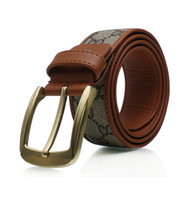 Wholesale New men s Genuine Leather belt pin buckle Korean wild for men casual leather belt strap belt