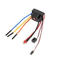 Wholesale 6v Esc - FVT Wolf 2-6s LiPo Battery 80A Pro A Waterproof RC Car ESC with 6V 3A Switch Mode BEC for 1 8 1 10 RC Car Parts order<$18no track
