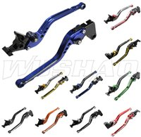 Wholesale Honda Cbr F3 Brake Lever - For Honda CB400SF CB919 CB600 CBR 600 F2 F3 F4 F4i CB400 CB 400 919 Mixed-color CNC Motorcycle Long Brake Clutch Levers