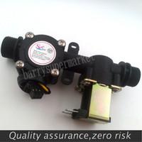 g1 sensor de flujo de agua al por mayor-Sensor de flujo de agua por mayor-G1 / 2, sistema de facturación automática de control de flujo de agua para calentadores de agua, fuentes de agua potable, dispensador de agua