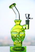 Wholesale Real Smoke - 100% Real hookahs Percolators Smoking new glass bongs Faberge Egg Waterpipe with birdcage perc 14.4m Water Pipes fab egg glass water pipes