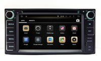 Wholesale wma mp3 player black online - Android Car DVD Player GPS Navigation for Toyota Fortuner Land Cruiser Innova Tundra Kluger Hiace Vios with Radio BT USB WIFI